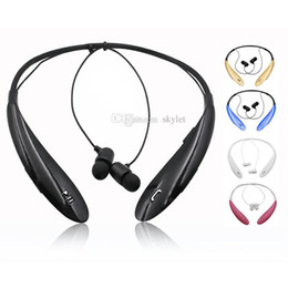 Universal ear blUetooth wireless handsfree headset online shopping - HBS HBS800 Bluetooth Headphones Wireless Earphone Tone Ultra Bluetooth Stereo Earphone sport Handsfree in ear No logo With Box