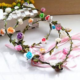 $enCountryForm.capitalKeyWord NZ - Colorful lights flash LED light wreath headdress veil Hawaii wreath scenic hot toys