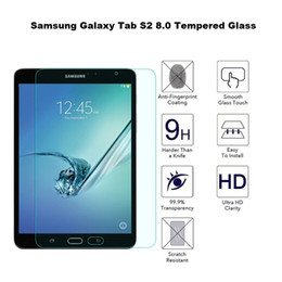 SamSung S2 Screen protector online shopping - 30PCS Explosion Proof H mm Screen Protector Tempered Glass for Samsung Galaxy Tab S2 T710 T810 Tab Active T360 No Package