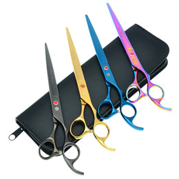 Dragon proDucts online shopping - 8 Inch Purple Dragon JP440C Cutting Scissors Professional Pet Scissors for Dog Grooming Tesoura Puppy Animals Hair Cut Tools LZS0418