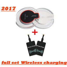 Qi Wireless Charging Charger Pad Canada - 2017 Luxury Qi Wireless Charger Charging Pad Mini for android Samsung S6 S6 Edge for iPhone 6 6 PLUS HTC Nokia etc