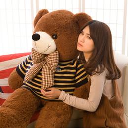 $enCountryForm.capitalKeyWord Canada - hot new Teddy Bear Lovers Big bear Arms Stuffed Animals Toys Plush Doll retails Valentine's gift new Year's gift