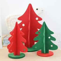 Discount Handmade Christmas Tree Toys 2017 Handmade Christmas  - Red Christmas Tree For Sale