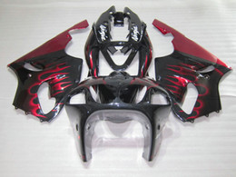 $enCountryForm.capitalKeyWord NZ - Fairing kit for Kawasaki Ninja ZX7R 96 97 98 99 00 01 02 03 red flames black fairings set ZX7R 1996-2003 OY03