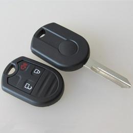$enCountryForm.capitalKeyWord NZ - High quality car replacement key blank case for Ford 3 button remote key shell FOB key cover