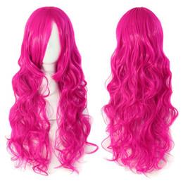 $enCountryForm.capitalKeyWord UK - Hatsune miku wig Rose red Curly Wavy Heat Resistance Cosplay Wig Anime Show & Party & Performance Hair Perruque peluca peruca