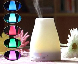 led oil Canada - 120ml Essential Oil Diffuser Portable Aroma Humidifier Diffuser LED Night Light Ultrasonic Cool Mist Fresh Air Spa Aromatherapy