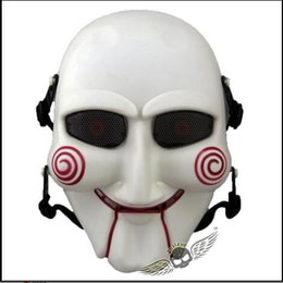 games wedding dresses NZ - Top Grade Resin Scary Saw Masks Horror Movie Cosplay Props Adult Jigsaw Mask Party Fancy Dress CS Game Mask Outdoor Cosplay