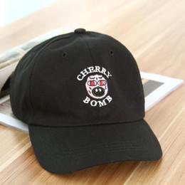 Snapback Hip Hop Panel Caps NZ - Cheap New Golf Wang Cherry Bomb Snapback Hats Brand Men Adjustable Hip Hop Baseball Caps Women 6 panel Hats Casquette Sun Visor Cap Dad Hat