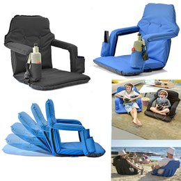 Smart Furniture Floor Chairs Portable Stadium Chair For Bleachers  Waterproof 600DD Oxford Comfortable Home And Outdoor Tatami Chair