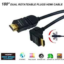 $enCountryForm.capitalKeyWord Canada - 6FT 1.8M HIGH SPEED HDMI CABLE SUPPORT 3D &ARC , 180 DEGREE DUAL ROTATABLE MALE TO MALE PLUGS FOR HDTV DVD XBOX PS3 PROJECTOR