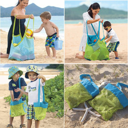 $enCountryForm.capitalKeyWord Canada - Beach Mesh Bags Sand Away Collection Toy Bag Storage For Sea Shell Kids Children Tote Organizer Mommy's Helper Free DHL Facotoy Direct