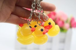 $enCountryForm.capitalKeyWord Canada - yellow duck key chain Creative personality cute yellow duck key chain ring hanging Christmas activities small gifts wholesale