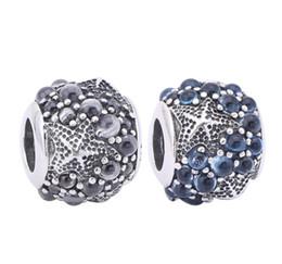 $enCountryForm.capitalKeyWord Canada - TopeasyJewelry Oceanic Starfish Charms 925 Sterling Silver Jewelry Frosty Mint CZ Nature Beads For Women Bracelets Diy Acccessories