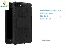 Hard case cover for asus online shopping - For zenfone max ZC520KL in Comb Armor Hybrid TPU PC Hard Cover support Stand cover Case for Asus zenfone ZE554KL