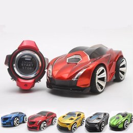 hot 36pcs carton smart watch full function voice command rc car voice control cars for children creative toy best birthday gift new