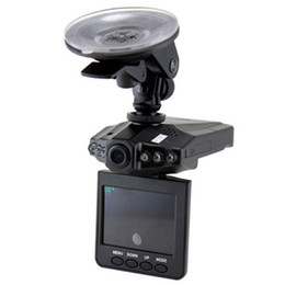 Hd Car Dvr H198 UK - H198 Car DVR With Night Vision 2.5 inch TFT LCD Screen 120 Degree Wide View Angle HD Camera