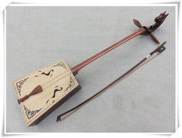 Wholesale Beginner musical instrument Wooden Matouqin Morin khuur Mongolian Horse Head Fiddle String High Quality Gift