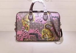 1198ef6aa7ad Newest style high quality fashion 35cm women brand genuine leather Animal  Print colourful handbags shoulder bag totes Cross Body free shippi