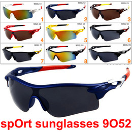 Designer sunglasses Dhl online shopping - Brand Cheap Sunglasses for Men and Women Outdoor Sport Sun Glass Eyewear Designer Sunglasses driving cycling sun glass colors DHL Shipping