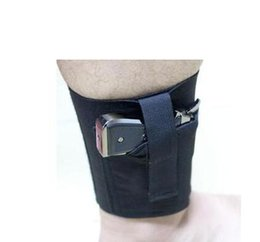 China Concealed Carry Universal Right Left Ankle Leg Gun Holster For LCP LC9 PF9 Small suppliers