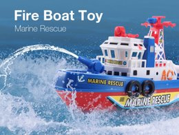 $enCountryForm.capitalKeyWord Canada - Electronic Boat U.S Fire Boat Auto Spray Water Seaport Work Boat Fire Fighting Ship with led Model electronic toys Hobbies