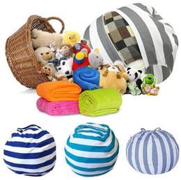 Doll chairs online shopping - 35 design cm Kids Toy Storage Bean Bags Beanbag Chair Kids Bedroom Stuffed Animal Dolls Organizer Plush Toys Buggy Bags KKA3604
