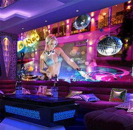 $enCountryForm.capitalKeyWord Canada - KTV box wall cloth bar nightclub bag long legs sexy dancer large poster mural underwear beautiful wallpaper