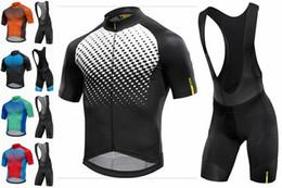 Full Zip Jacket Polyester Australia - Men's Cycling Jerseys Biking Shirts Short bib pants Bike Clothing Full Zip Jacket With Pockets breathable quick dry suit 9D Gel Pad