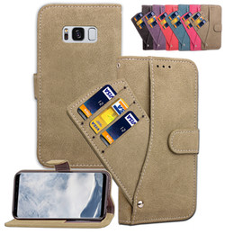Discount cool wallet designs - For iPhone 8 Plus Case Cover Stand Convenient Cool Revolving Wallet Card Pocket Design Frosting Rough Ati-skid Surface
