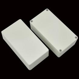 Echo Pedals Australia - 2pcs 125B 1590N1 Diecast Aluminium Enclosure white for guitar effect pedal project