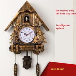 wholesale cuckoo clock fashion living room wall clock 16inch alarm clock quality swing pocket watch modern brief