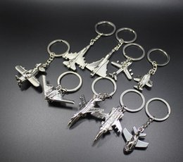 Discount custom logo pendants - Best gift Creative metal small aircraft key chain model car pendant lettering custom logo KR350 Keychains mix order 20 p