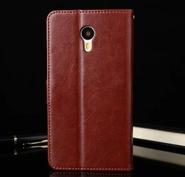 $enCountryForm.capitalKeyWord Canada - For Meizu M3 Note Case 5.5 Inch Flip Wallet Genuine Leather Cover for Meizu M3 NOTE with Stand Function Card Holder Phone Skin Cover