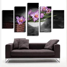 2017 New Novelty Items Ink Painting Arts Creative Famous Fashion Flower Living Room Wall Art Home Decor Poster