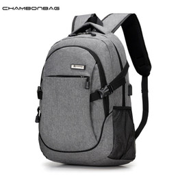 school europe 2019 - Wholesale- New Europe Nylon Oxford Cloth Man Solid Fashion Travel Backpack Male Denim School Teenage Backpacks Sac a dos