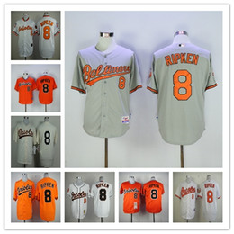 1a7f02af8 ... Mens 2001 Baltimore Orioles Throwback baseball jerseys Cal Ripken  Mitchell Ness 100% stitched White Home ...