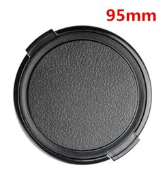 Dslr Lens Cover Canada - Wholesale-95mm Camera Lens Cap Protection Cover Lens Front Cap for all camera 95mm DSLR Lens free shipping
