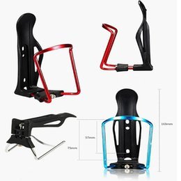 Aluminum Alloy Body Canada - Colorful Water Bottle Adjustable Bicycle Road Bike Rack Light Stand Body Aluminum Alloy Water Bike Cage Bike Accessories