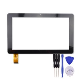 """China Wholesale- 10.1"""" inch Touch Screen for GT10PWN106 Tablet PC Digitizer Sensor Glass Panel with Free Repair Tools cheap tablet pc screen repairs suppliers"""