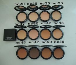 Maquillage Studio Fix Face Powder Plus Foundation 15g Fondation Poudre Compacte Toutes les couleurs NC Mini Order 10pcs