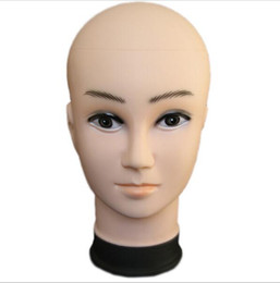 Chinese  male Mannequin Head Hat Display Wig training head model men's head model manufacturers