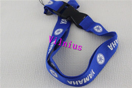 $enCountryForm.capitalKeyWord Canada - Hot!10pcs Blue Classic motorcycl logo neck strap lanyard KeyChain cellphone strap for All models Free Shipping