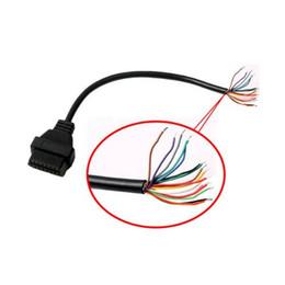 Open Connectors UK - AQkey OBD2tool Female OBD II 16pin to end open connector cable obd2 16pin to open end cable female 16pin OBDII connector Store: 20157475