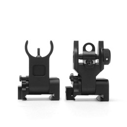 Funpowerland High quality Trinity Force Flip Up Front and Rear Back up Iron Sight Free Shipping on Sale
