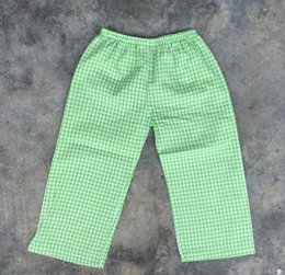 $enCountryForm.capitalKeyWord NZ - New Design Children Boy Clean And Natural Color Seersucker Elastic Waist Pants High Quality Pants For Baby Boys