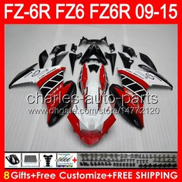 $enCountryForm.capitalKeyWord Canada - gloss red 8gifts For YAMAHA FZ6R 09 10 11 12 13 14 15 FZ6N FZ6 89NO2 FZ-6R FZ 6R 2009 2010 2011 2012 2013 2014 2015 TOP red white Fairing