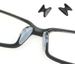 Vente en gros- 1/5 paires de coussinets en silicone anti-dérapant pour lunettes de lunettes de lunettes Lunettes de soleil