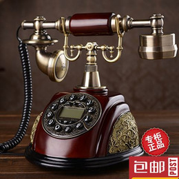 China Special offer European antique landline phone new American retro fashion telephone supplier european telephone antique suppliers