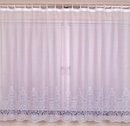 on sale polyester lace big window curtains for lace bay curtain new fashion bedroom elegant curtain